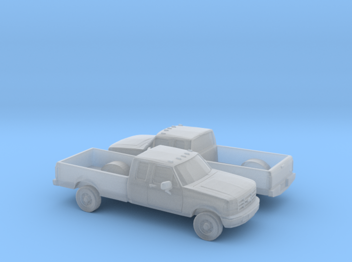 1/160 2X 1996 Ford F Series Extendet Cab 3d printed