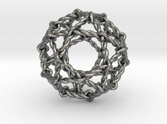 Twisted Penta Sphere 3d printed