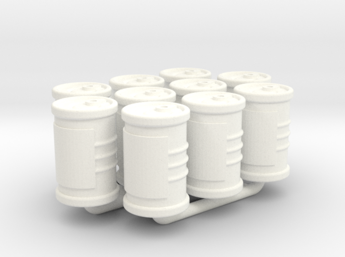Food Cans tokens (10pcs) 3d printed