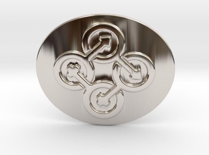 Circle Of Life Belt Buckle 3d printed