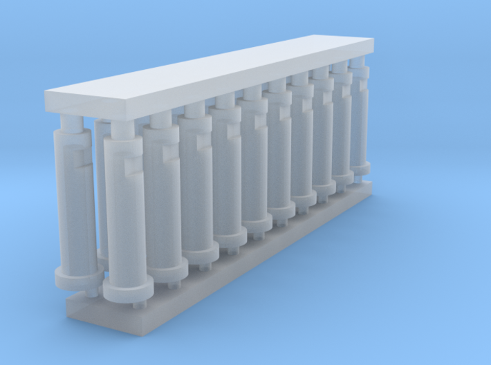 MOF Bollard Frosted(20)[72-1] 3d printed
