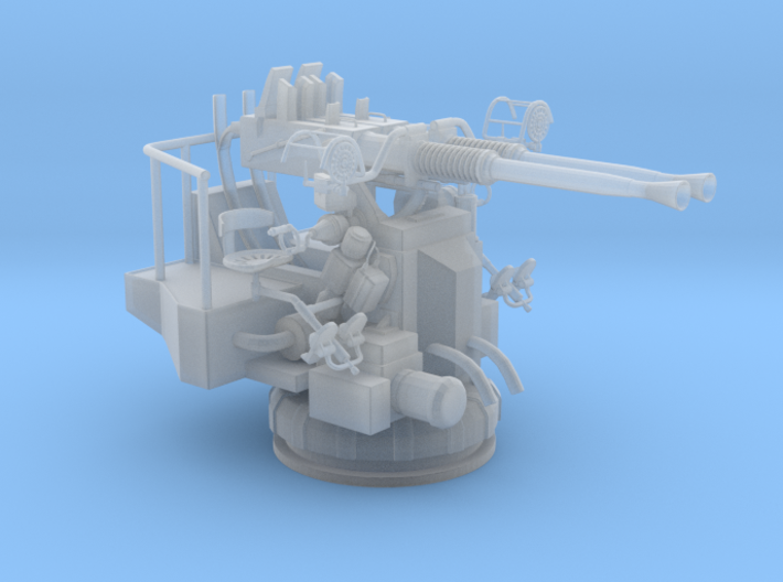 1/48 USN 40mm Bofors Twin Mount 3d printed