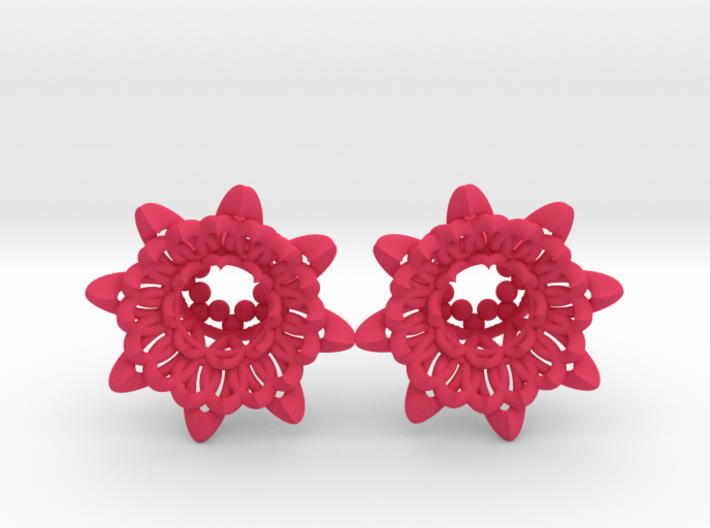 "The Chrysanthemums Plugs /gauge /size1/2""(12mm) 3d printed"