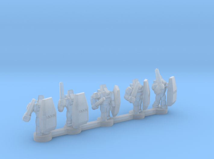 UWN Peacekeepers 3d printed