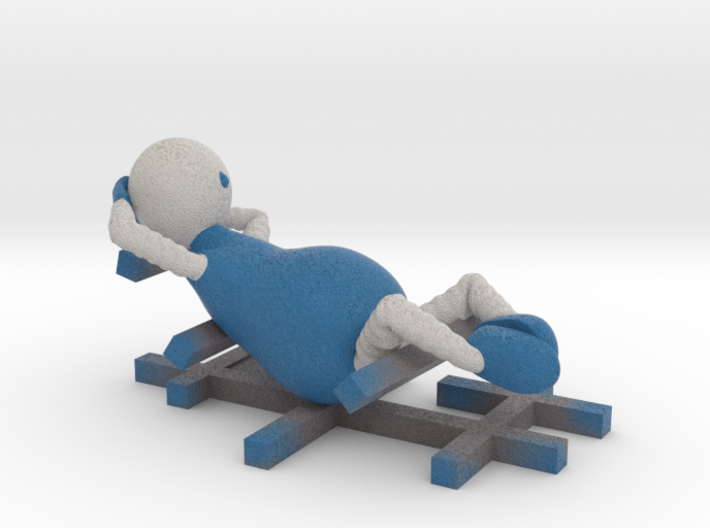Chilling and Lazy - 1007N 3d printed