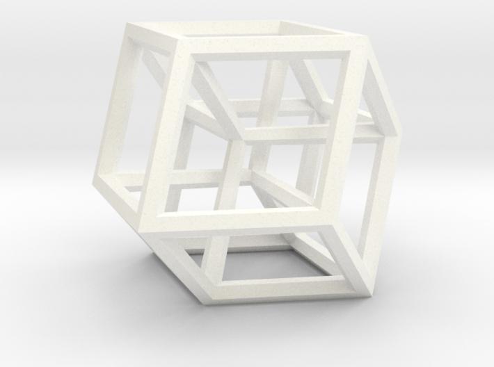 Hypercube B (11cm) 3d printed