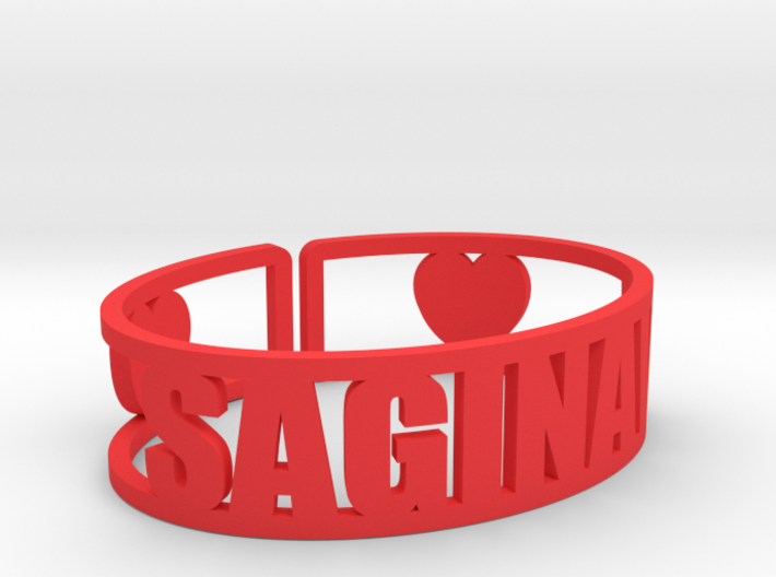 Saginaw Cuff 3d printed