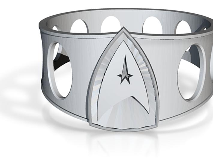 Star Trek Ring size 13 3d printed