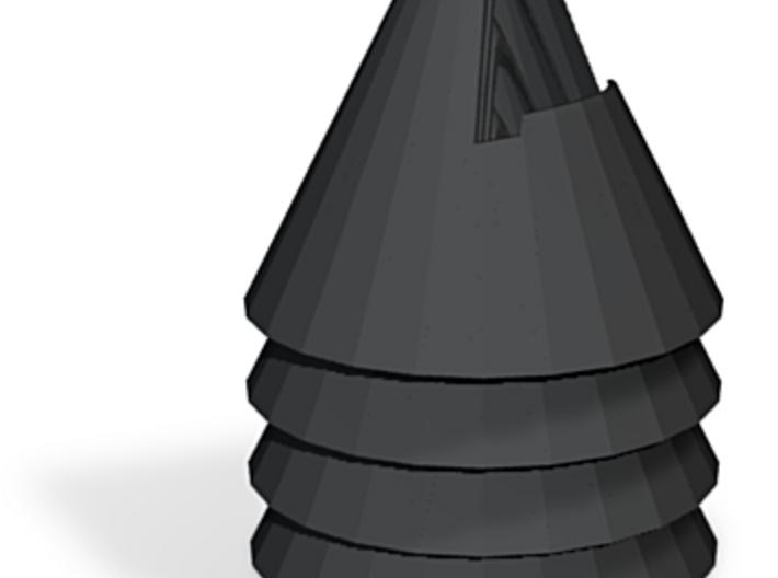 zz - Cone 5 10 Gray Dark X4 3d printed