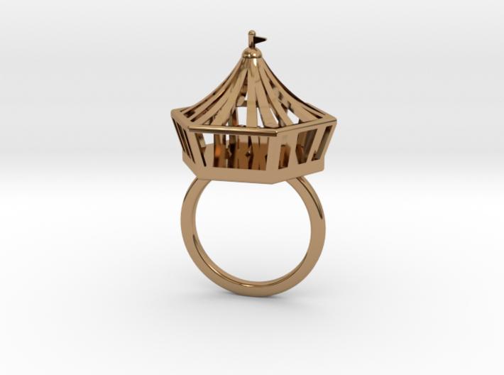 Circus Ring (18mm) 3d printed