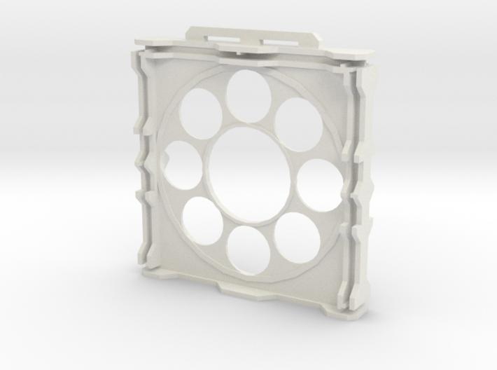 Gen2 BULKHEAD Round Windows 3d printed