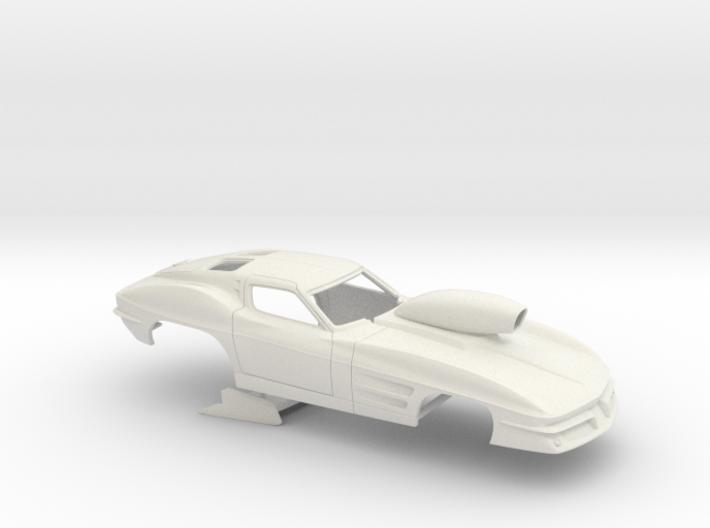 1/12 1963 Pro Mod Corvette 3d printed