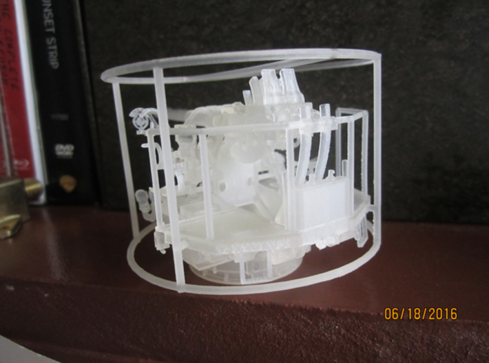 1/48  40mm Bofors Twin Mount USN WWII ships 3d printed