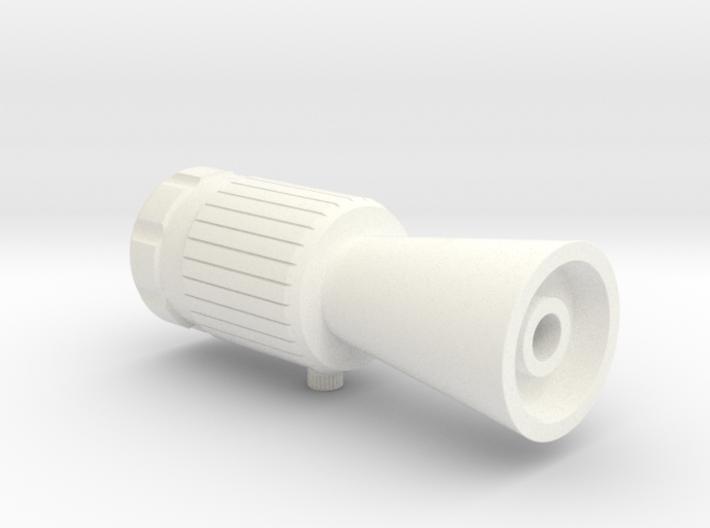 ROTJ Flash Hider (Standard Version CUT barrel) 3d printed