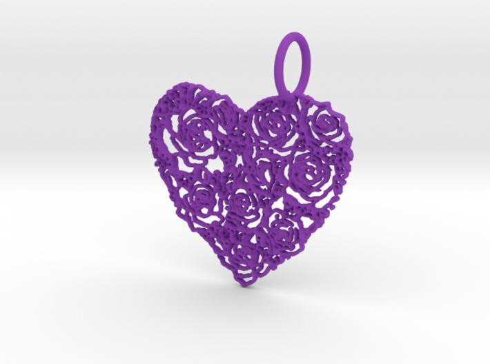 Love ShapePendant 3d printed