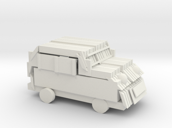 Red Car 3d printed
