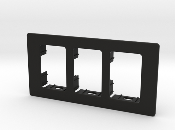 "3x XJ/TJ OEM 100x50mm (2""x4"") Switch Panel 3d printed"