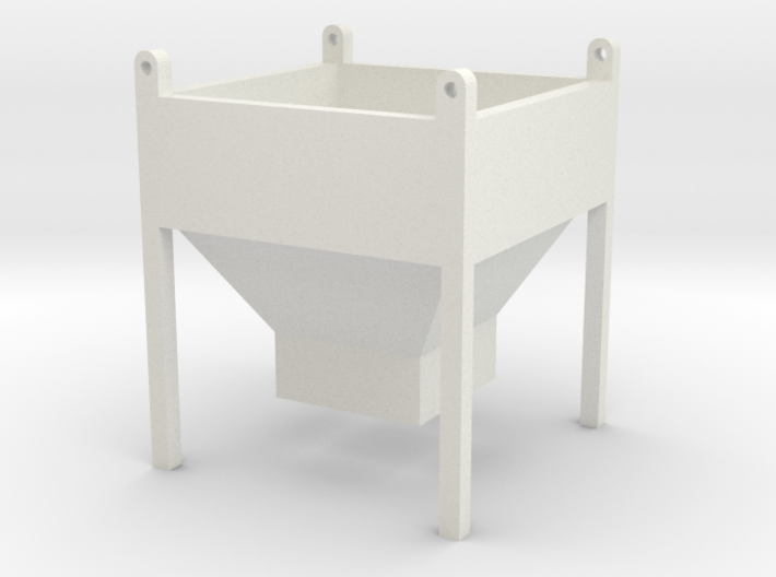 1:50 Cement Concrete Bucket 3d printed