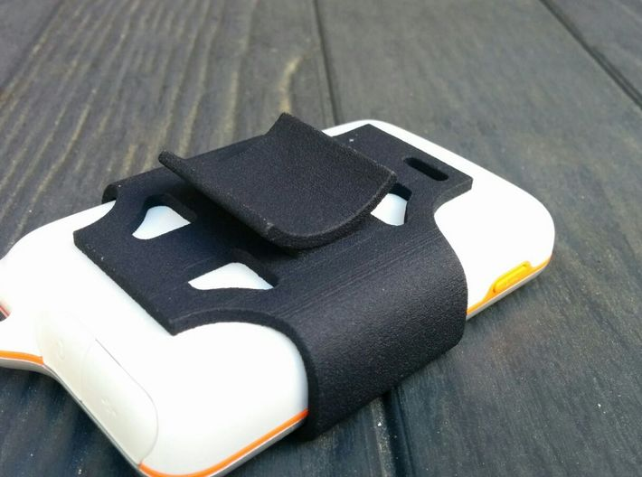 Sony Ericsson Xperia Active case bicycle holder 3d printed