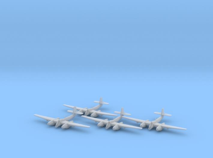 Westland Welkin with bombs 1:200 x4 FUD 3d printed