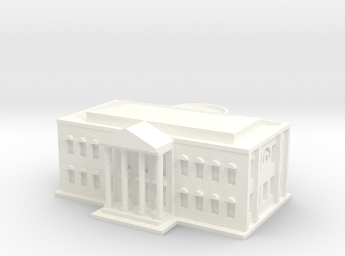 White House (1/1000 Scale Model) 3d printed