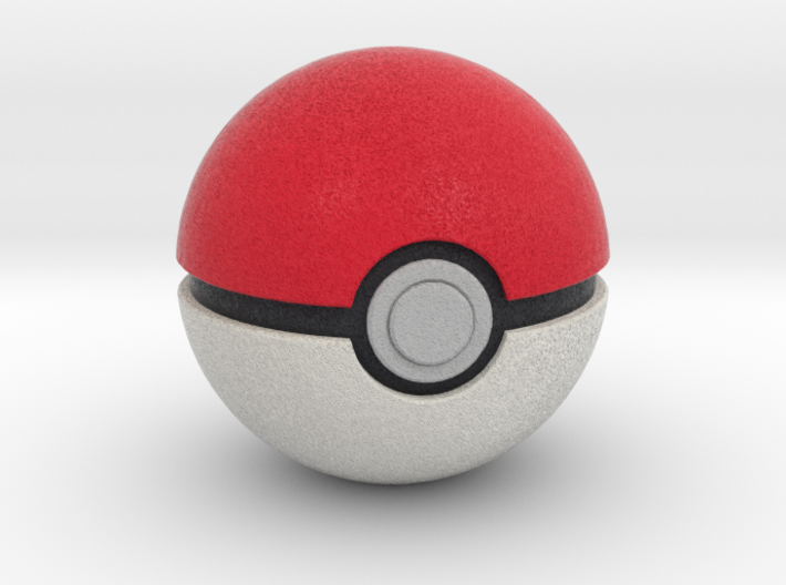 Poké Ball 3d printed
