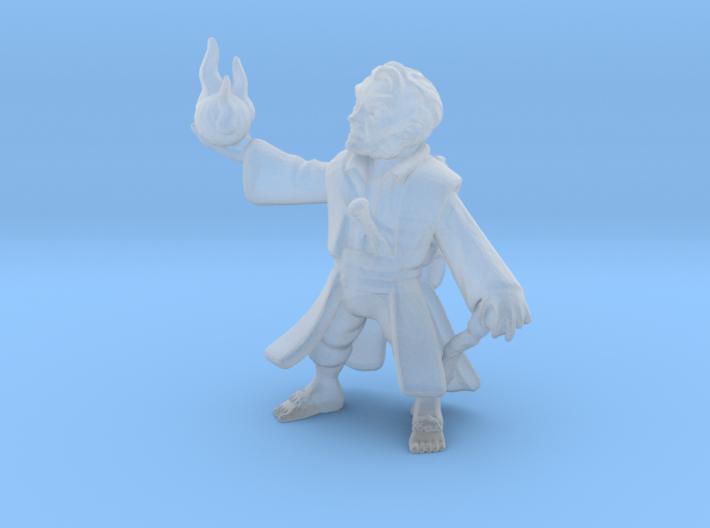 Halfling Wizard 3d printed