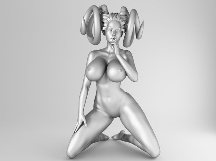 1/25 Evil Sexy Girl Pose 001 3d printed