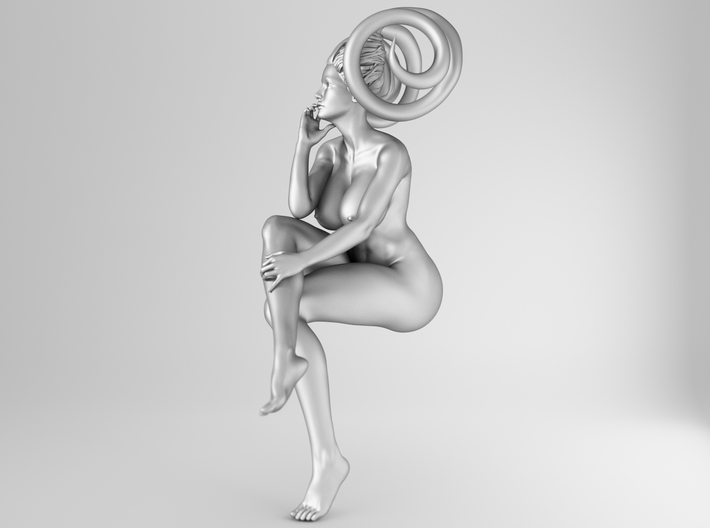 1/25 Evil Sexy Girl Pose 008 3d printed