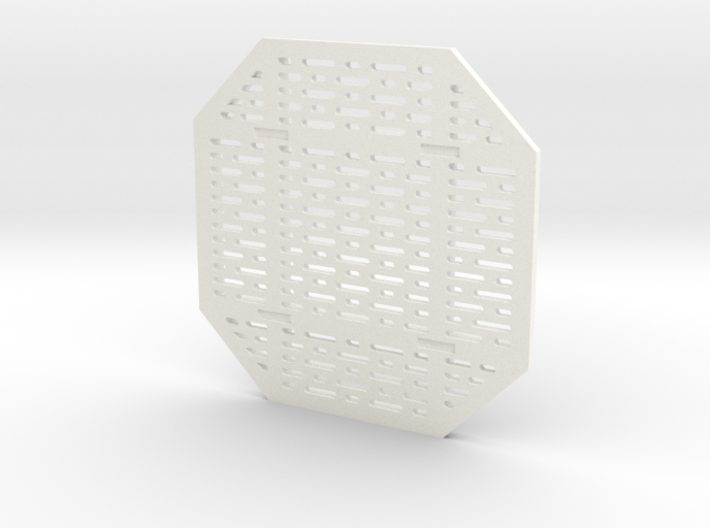 DeAgo Falcon Main Hold Floor Pit Single Cover  3d printed