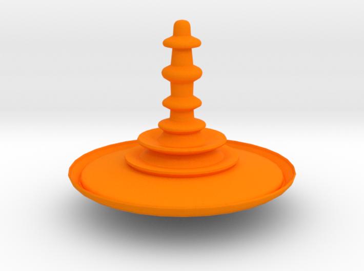 Fierce Spinner 3d printed