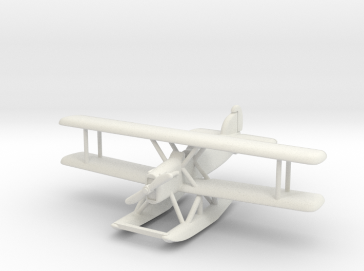 Douglas DT-2 (with floats) 6mm 1/285 3d printed