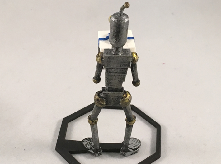Generous Robot 3d printed Painted. Does not come this way.