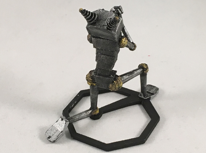 Begging Robot 3d printed Painted. Does not come this way.