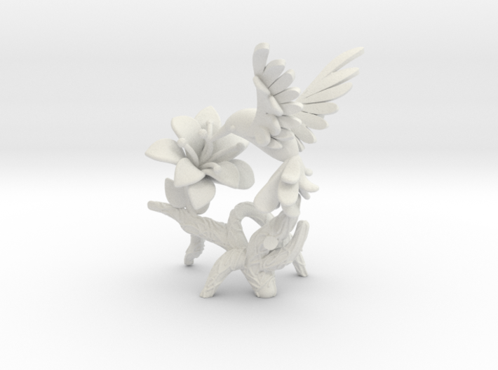 Hummingbird 3d printed