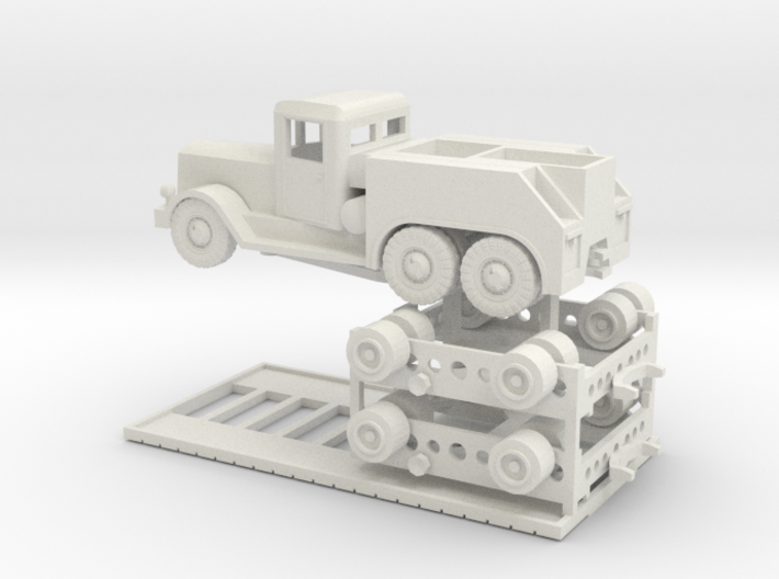 TT (1/120) Tiger Transport  3d printed