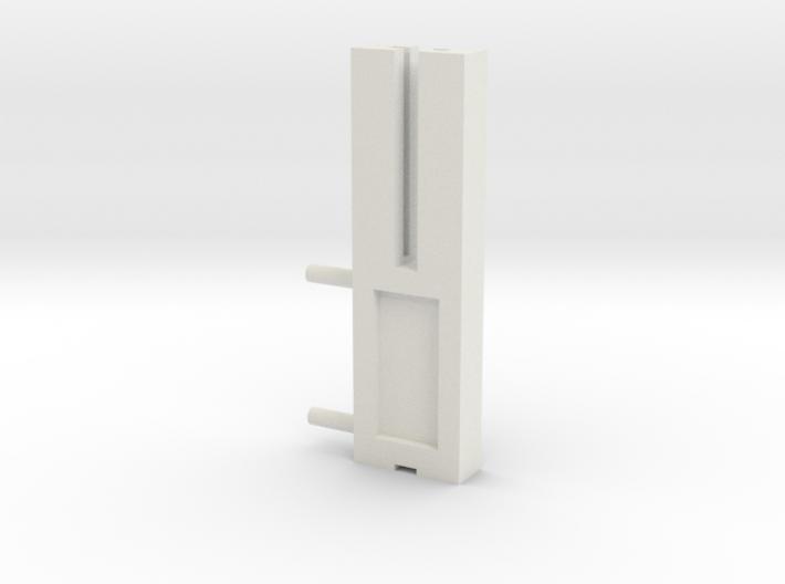 Zaunhalter Querträger 43mm Türseite Klein V2 3d printed
