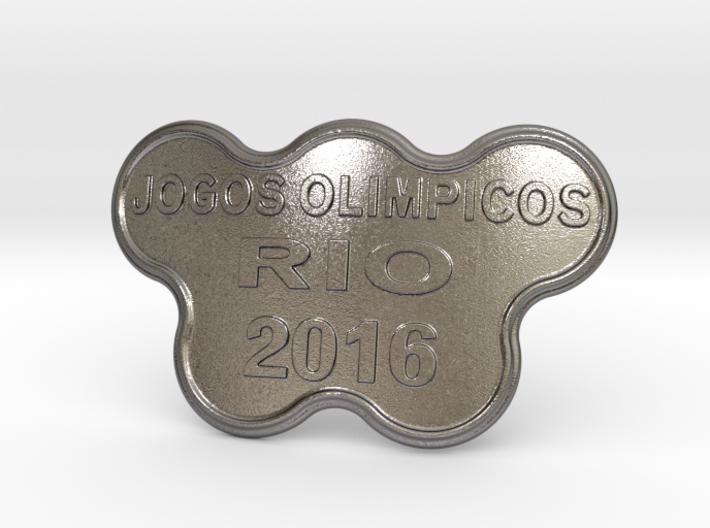 Jogos Olimpicos Belt Buckle 3d printed