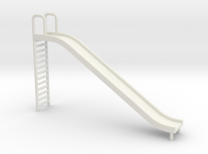 Playground Slide - 24:1 Scale 3d printed