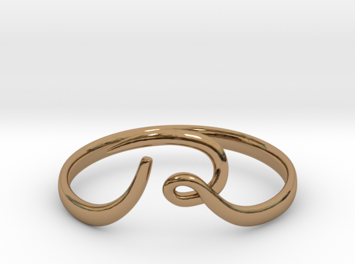 R-loop Ring 3d printed