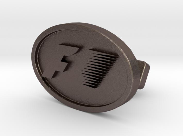 Formula One Cufflink 3d printed