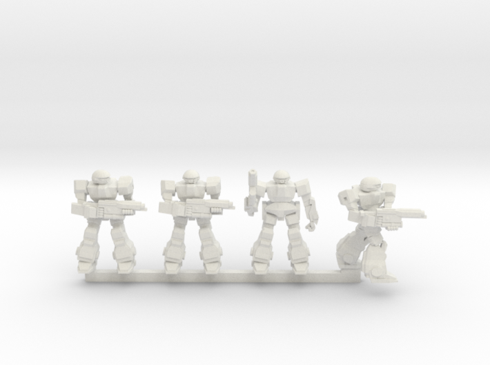 Howlers Squad 3d printed