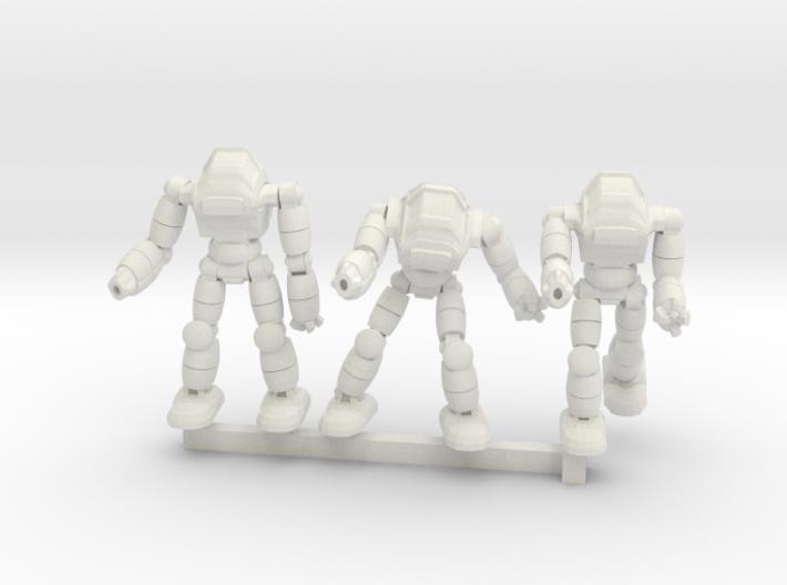 Neo Battlesuit Squad 3d printed