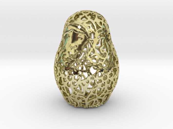 Matryoshka / Nesting Doll Pendant 3d printed