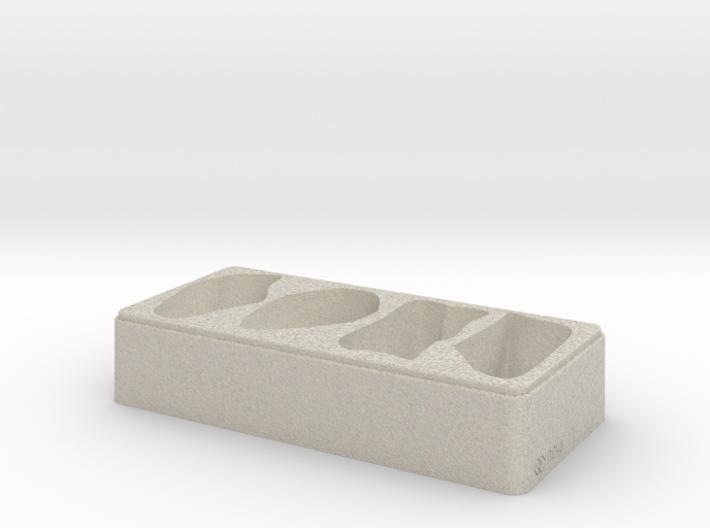 Rock Tray - 3D Print - REV1 - 02-23 3d printed