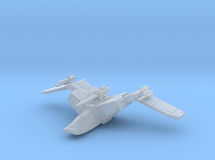 Jurgoran Imperial Gunship Build BLC SR PD (1/270) 3d printed