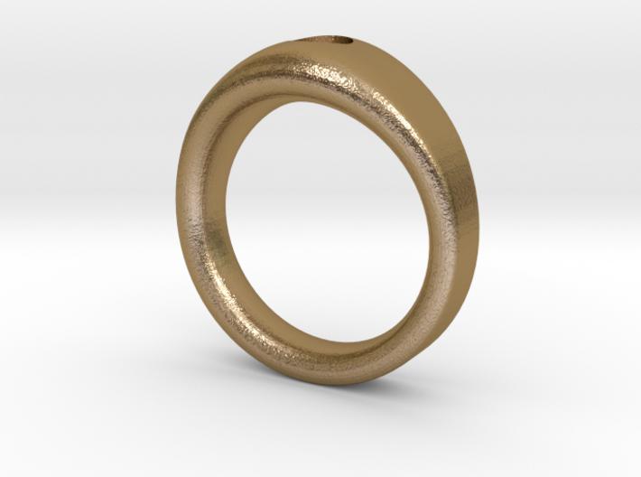 5mm Stone custom Band size 10 3d printed
