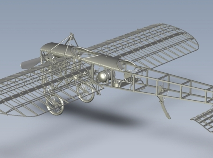 1/15 scale Bleriot XI-2 WWI model kit #1 of 4 3d printed