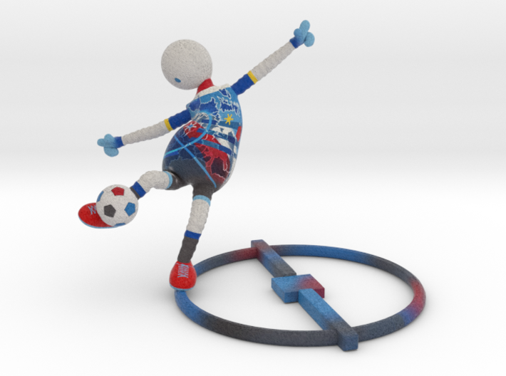 Football Fever - Europe 1017ND101 3d printed