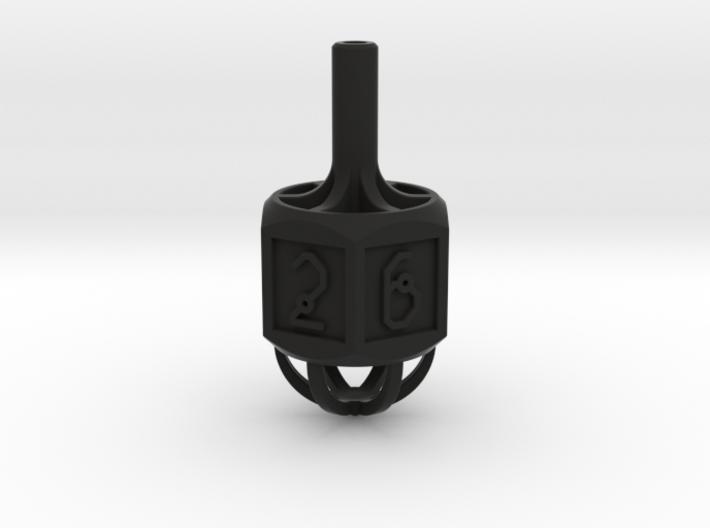 Dice: Spinner Vertex Dice 3d printed